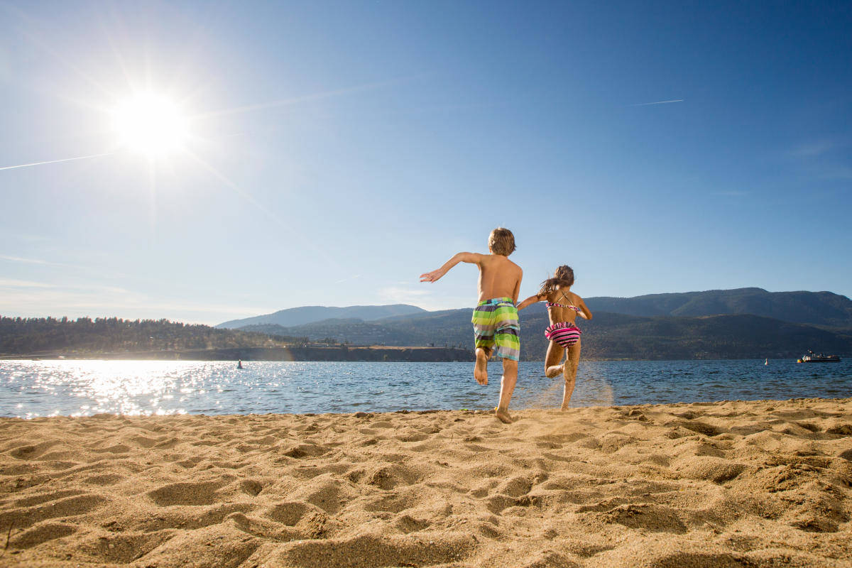 City Park Beach in Kelowna. (Contributed)