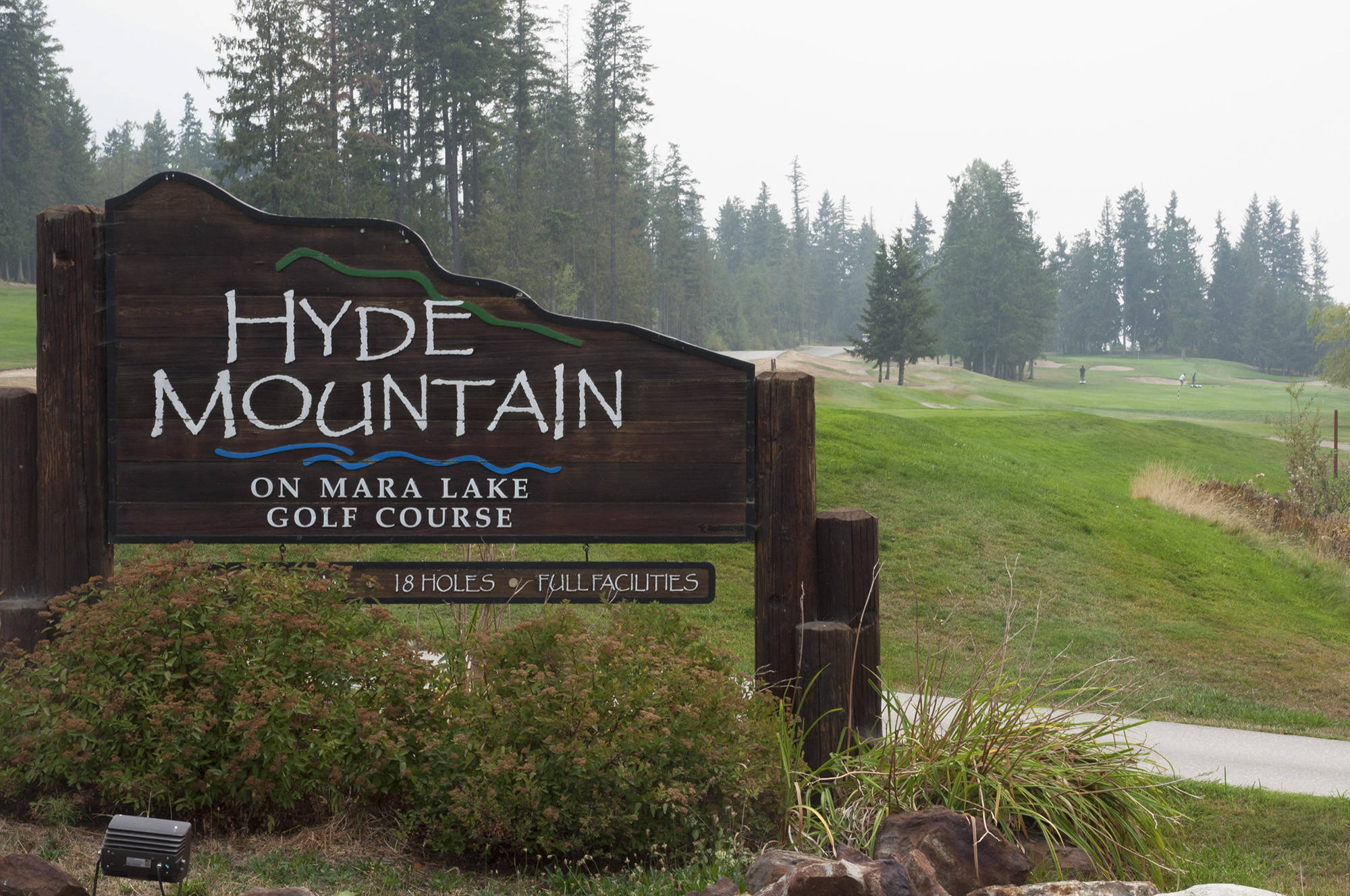 Hyde Mountain Golf Resort in Sicamous. (File photo)